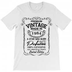 vintage made in 1984 T-Shirt | Artistshot