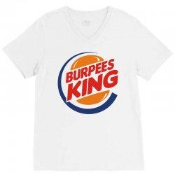burpees king V-Neck Tee | Artistshot