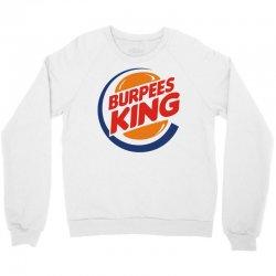 burpees king Crewneck Sweatshirt | Artistshot