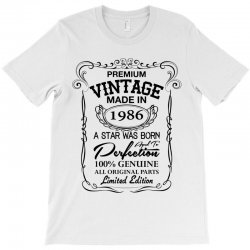 vintage made in 1986 T-Shirt | Artistshot