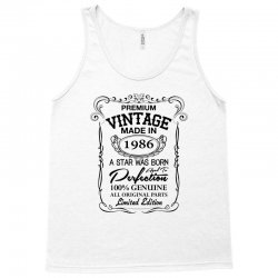 vintage made in 1986 Tank Top | Artistshot