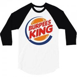burpees king 3/4 Sleeve Shirt | Artistshot