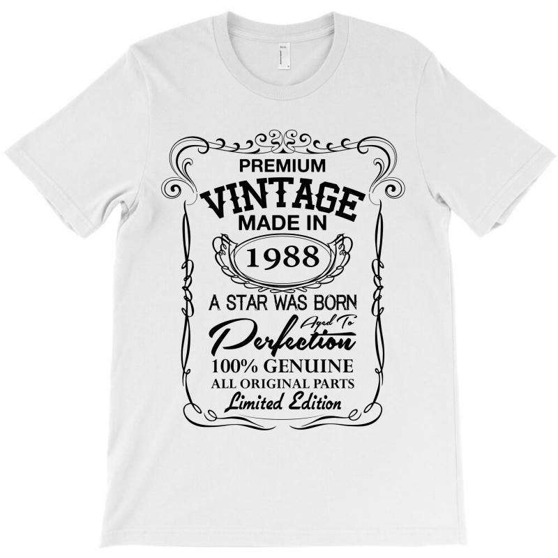 Vintage Made In 1988 T-shirt | Artistshot