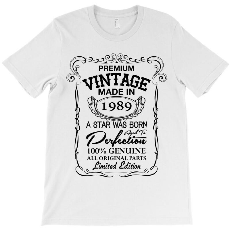 Vintage Made In 1989 T-shirt | Artistshot
