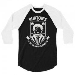 burton's school of forensics 3/4 Sleeve Shirt | Artistshot