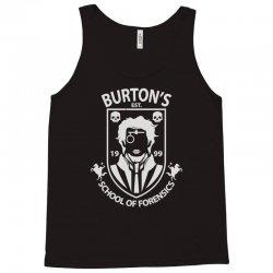 burton's school of forensics Tank Top | Artistshot