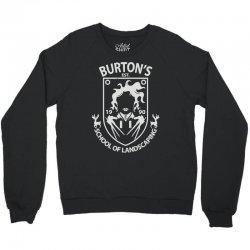 burton's school of landscaping Crewneck Sweatshirt   Artistshot