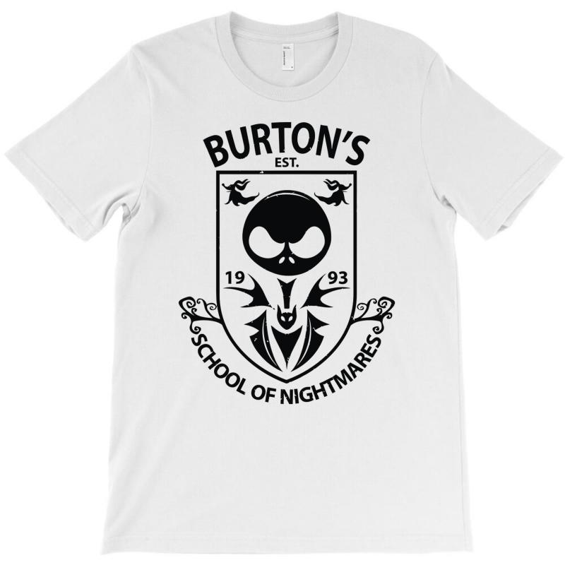 Burton's School Of Nightmares (2) T-shirt | Artistshot