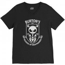 burton's school of nightmares V-Neck Tee | Artistshot