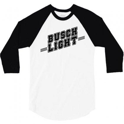 Busch Light 3/4 Sleeve Shirt Designed By Monstore
