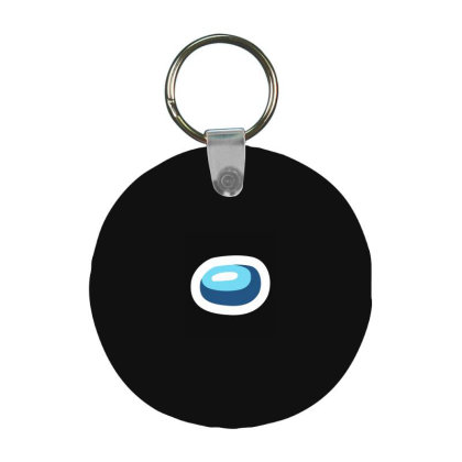 Among Us - Among Us Game Frp Round Keychain Designed By Diogo Calheiros