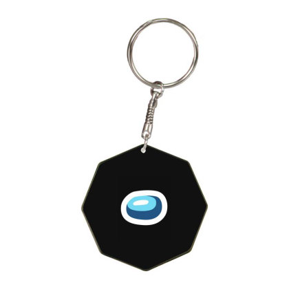 Among Us - Among Us Game Octagon Keychain Designed By Diogo Calheiros