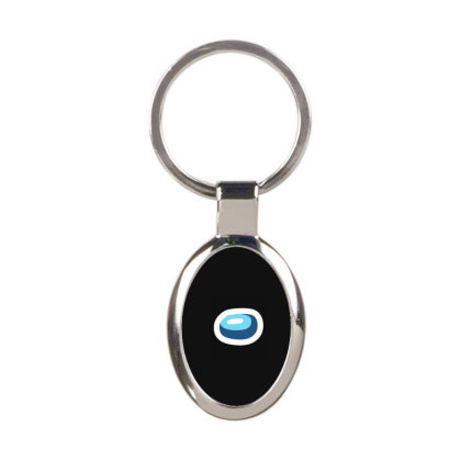 Among Us - Among Us Game Oval Keychain Designed By Diogo Calheiros
