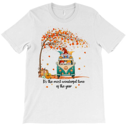 It's The Most Wonderful Time Of The Year Gnomes Autumn Fall T-shirt Designed By Mrt90