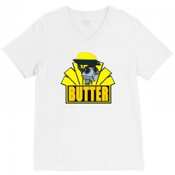 butter V-Neck Tee | Artistshot