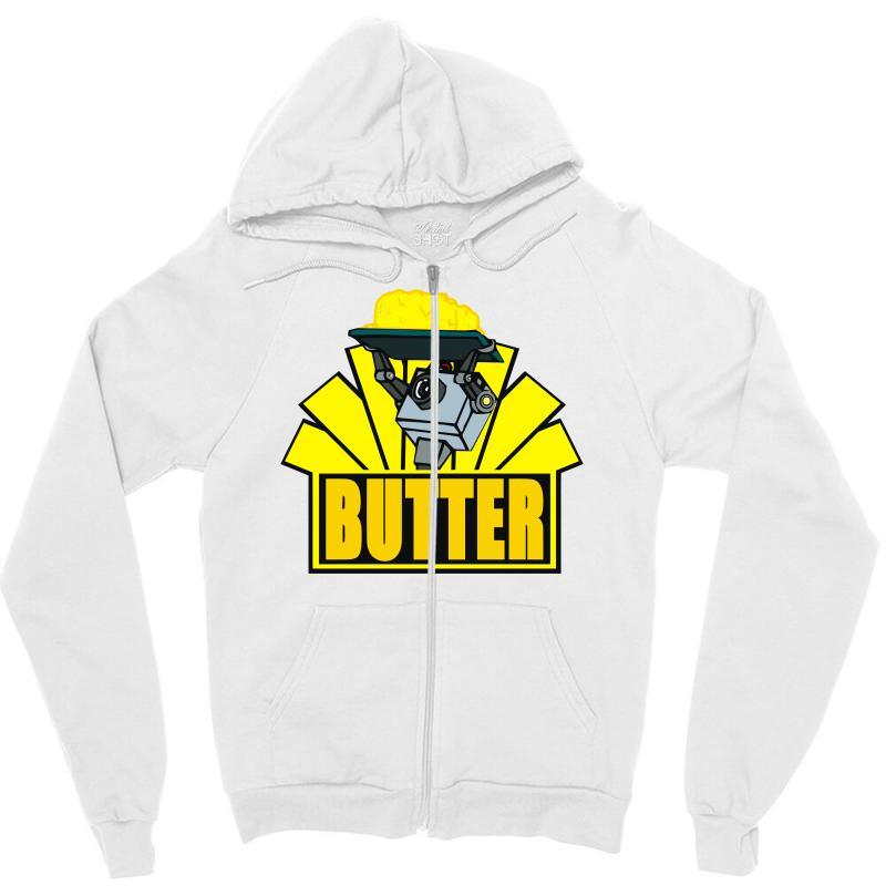 Butter Zipper Hoodie | Artistshot