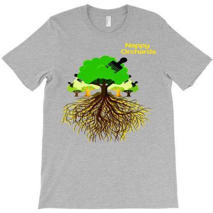 Nappy Orchards Family Roots Run Deep T-shirt Designed By Lotus Fashion Realm