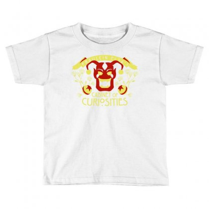 Cabinet Of Curiosities Toddler T-shirt Designed By Monstore