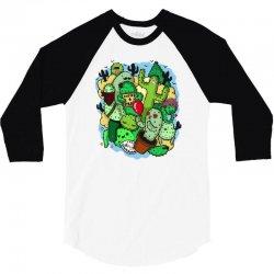 cacti 3/4 Sleeve Shirt | Artistshot