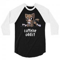 caffeine addict (2) 3/4 Sleeve Shirt | Artistshot
