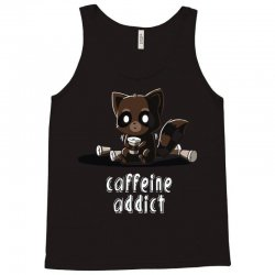 caffeine addict Tank Top | Artistshot