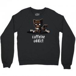 caffeine addict Crewneck Sweatshirt | Artistshot