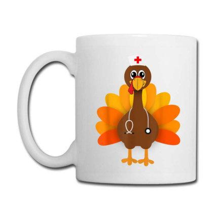 Thanksgiving Scrub Tops Women Turkey Nurse Holiday Nursing Coffee Mug Designed By Conco335@gmail.com