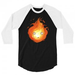calcifer 3/4 Sleeve Shirt | Artistshot
