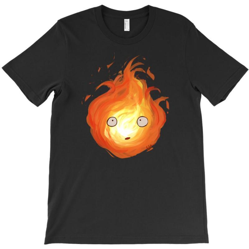 Calcifer T-shirt | Artistshot
