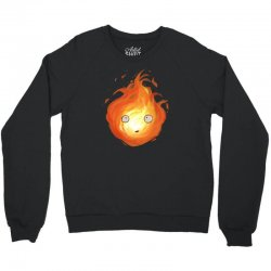 calcifer Crewneck Sweatshirt | Artistshot