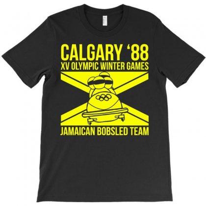Calgary 88 Jamaican Bobsleigh Team T-shirt Designed By Monstore