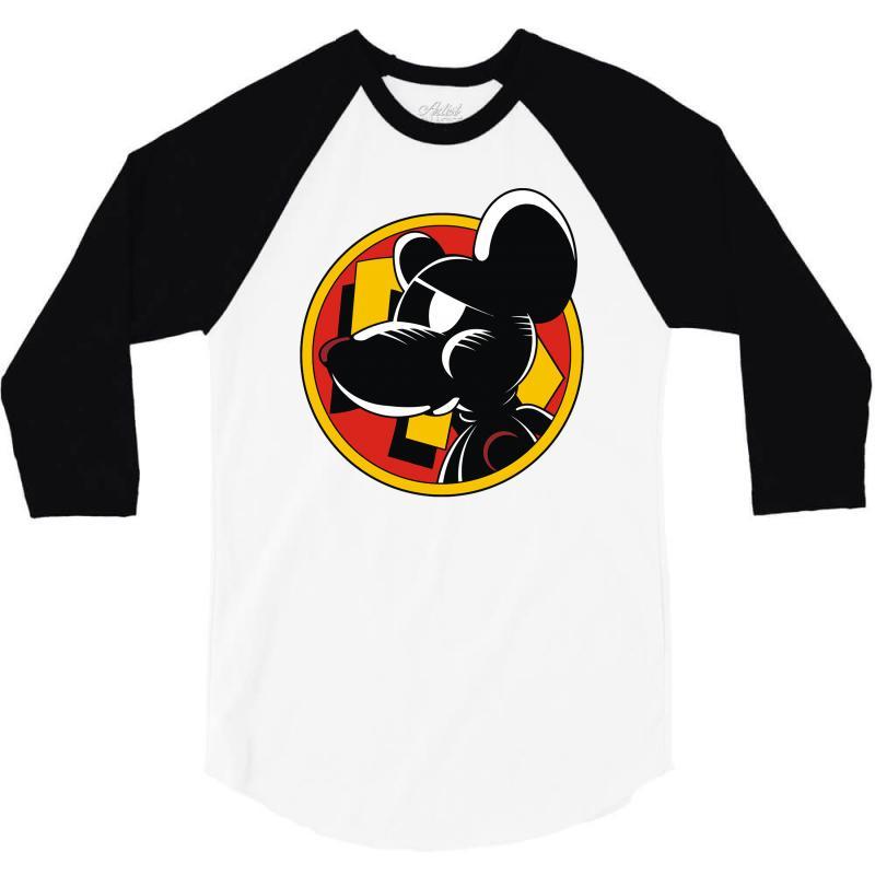 Calling Danger Mouse 3/4 Sleeve Shirt   Artistshot