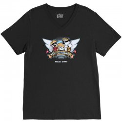 calvinball video game V-Neck Tee | Artistshot