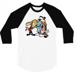calvren and stimpsy 3/4 Sleeve Shirt | Artistshot