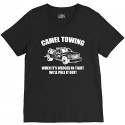 camel towing wrecking service V-Neck Tee | Artistshot
