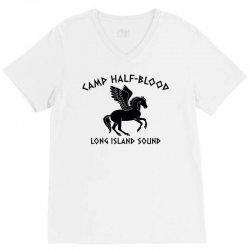 camp half blood long island sound V-Neck Tee | Artistshot