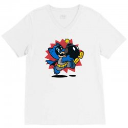 can't get rid of a bob omb V-Neck Tee | Artistshot