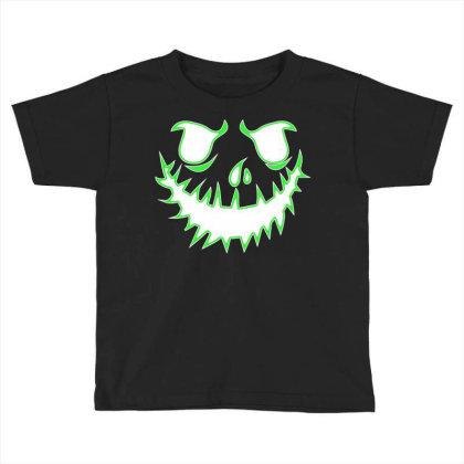 Glowing Jack Toddler T-shirt Designed By Lotus Fashion Realm
