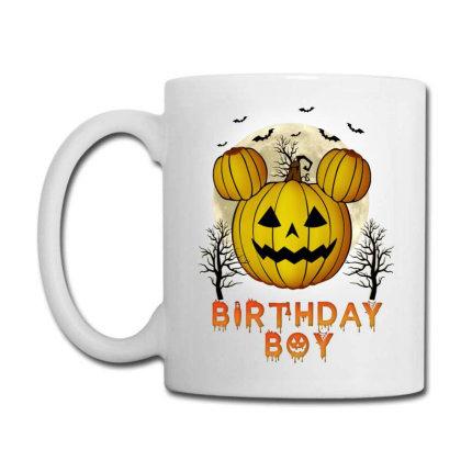 Birthday Boy Halloween Pumpkin Coffee Mug