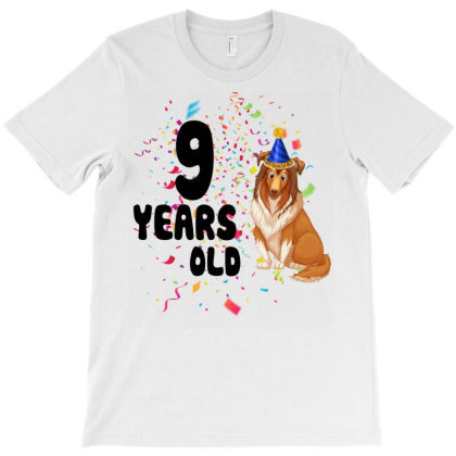 9 Years Old T-shirt Designed By Bettercallsaul