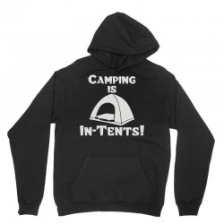 camping is intents Unisex Hoodie | Artistshot