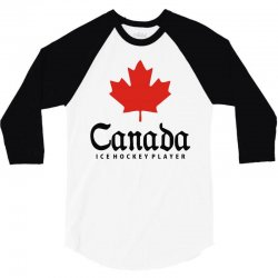 canada ice hockey 3/4 Sleeve Shirt | Artistshot