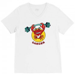 cancer V-Neck Tee | Artistshot
