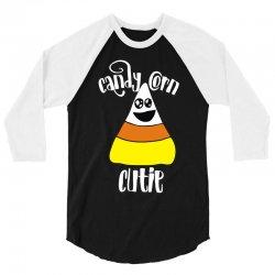 candy corn cutie for halloween 3/4 Sleeve Shirt | Artistshot