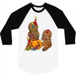 candy pumpkin 3/4 Sleeve Shirt   Artistshot