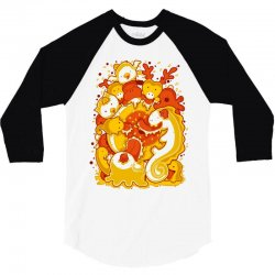 candy 3/4 Sleeve Shirt   Artistshot