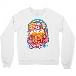 candypaint   evil food brigade Crewneck Sweatshirt   Artistshot