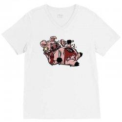 cannibalistic piggy V-Neck Tee | Artistshot