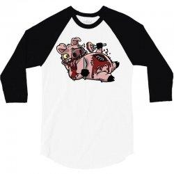 cannibalistic piggy 3/4 Sleeve Shirt | Artistshot