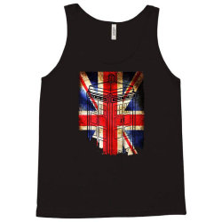tardis British flag Tank Top | Artistshot